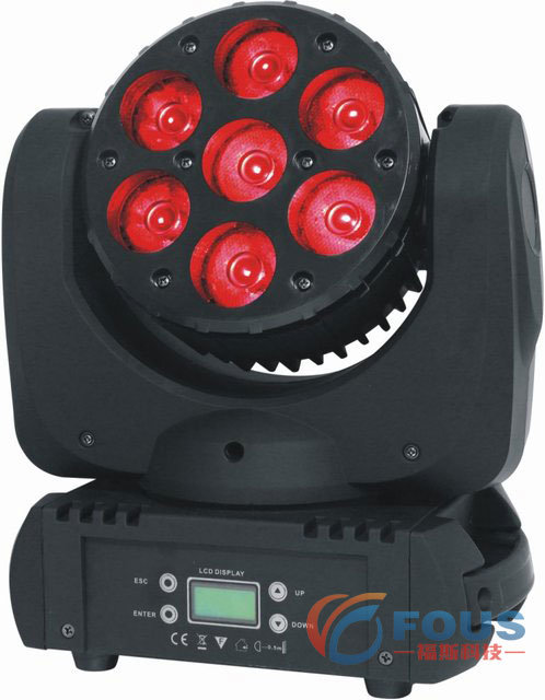 7X12W Osram RGBW 4 in 1 LED Beam Moving Head Light / Moving Head LED Light / Stage Lighting / Disco Lighting (FS-LM3006)