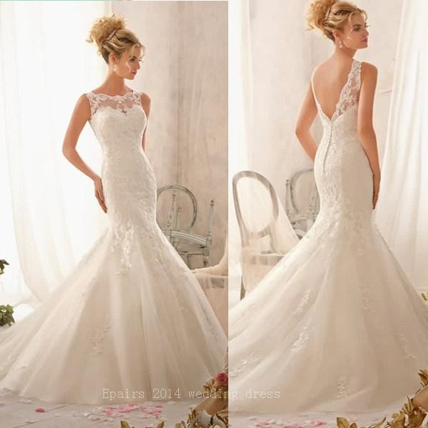 Mermaid Wedding Dresses 2014
