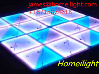 Free Shipping 4PCS/Lot 1 Meters DMX 512LED Dance Floors Controller Wedding Dance Floors Disco Effect Light Decoration