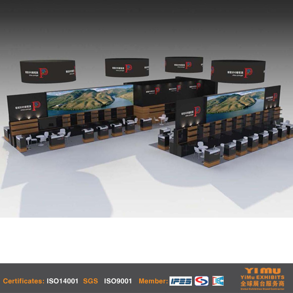 Trade Show Stand Construction in Wine Spirits Show