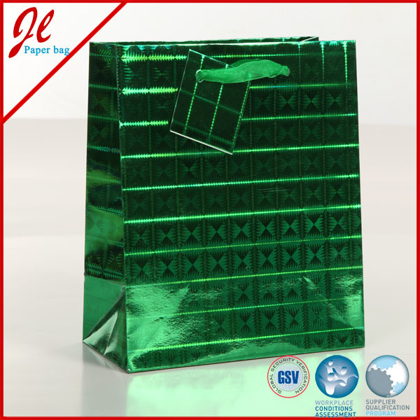 Printable Hologram Paper Bag