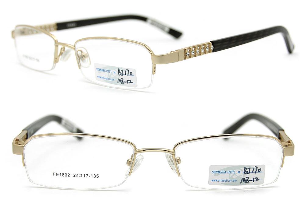 Eyeglass Frame Models : China 2012 New Models of Glasses Frames Half Frame Glasses ...