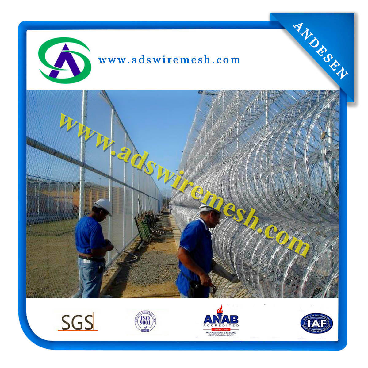 Razor Barbed Wire (Galvanized and SUS)