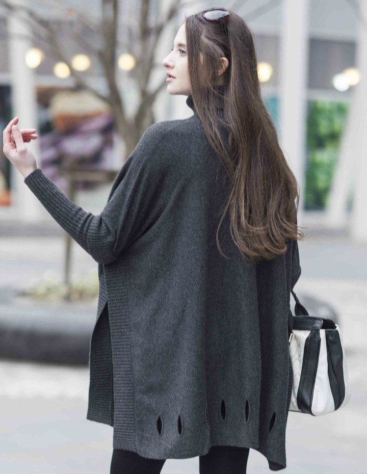 Ladies′ Fashion Cashmere Sweater (1500002077)
