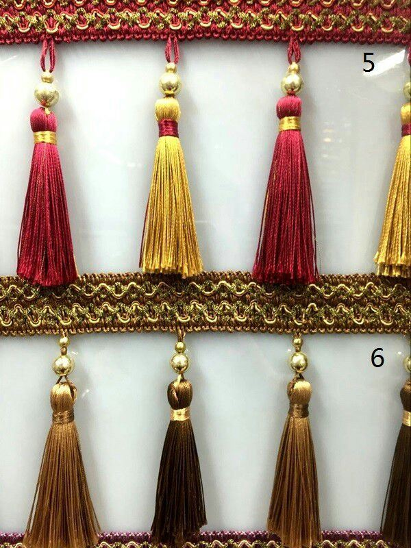 High Quality More Colors Tassel Fringe for Curtain Lace
