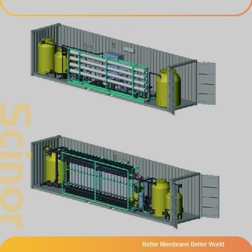EasyIns Intergrated UF Membrane Desalting Equipment (for drinking water treatment)