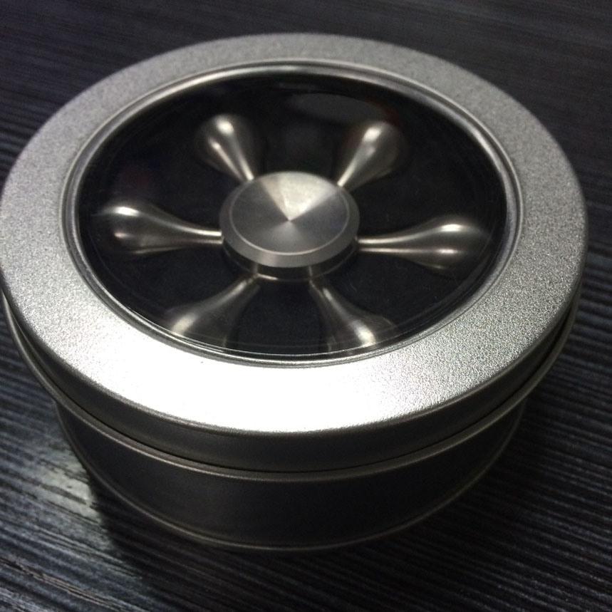 EDC Ss Anti Stress Release Metal Toys Hand Fidget Spinner