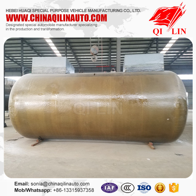 Double Layer Fuel Storage Tank with Single Compartments
