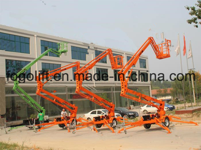 10m Aerial Working Maintenance Articulated Boom Lift
