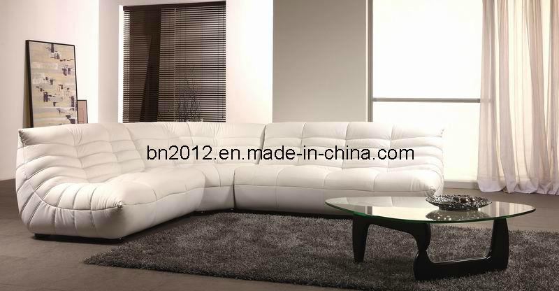 Living Room Genuine Leather Sofa (B-240B)