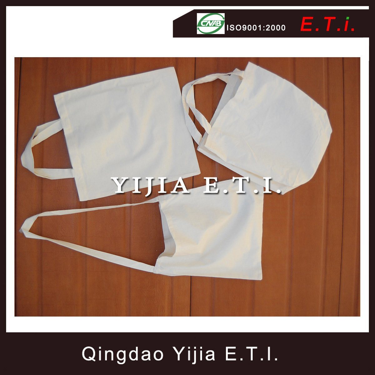 Customized Eco Freindly Blank Cotton Bag