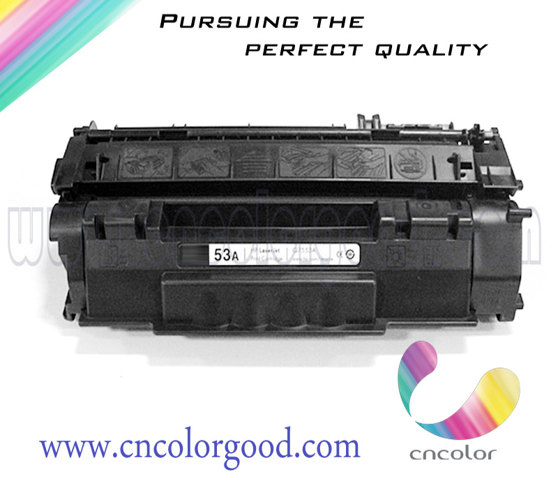 New Brand Black Compatible Toner Cartridge 7553A for HP Factory Direct Sales Q7553A 53A