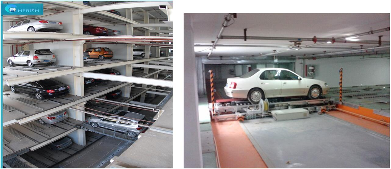 5 Level Automated Ppy Plane-Moving Parking Equipment