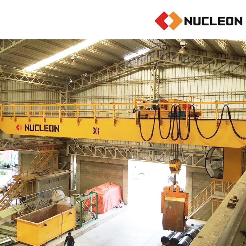 Nucleon Double Girder Bridge Winch Crane 30 Ton