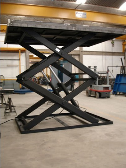 Scissor Lift Table with Hydraulic Drive (SJG3-4)