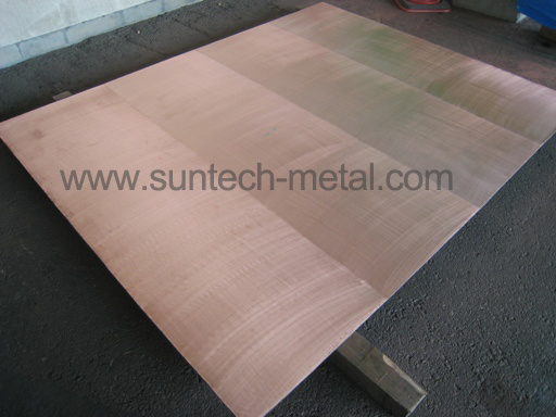 Copper / Stainless Steel Clad Plate-Explosion Bonded (E002)
