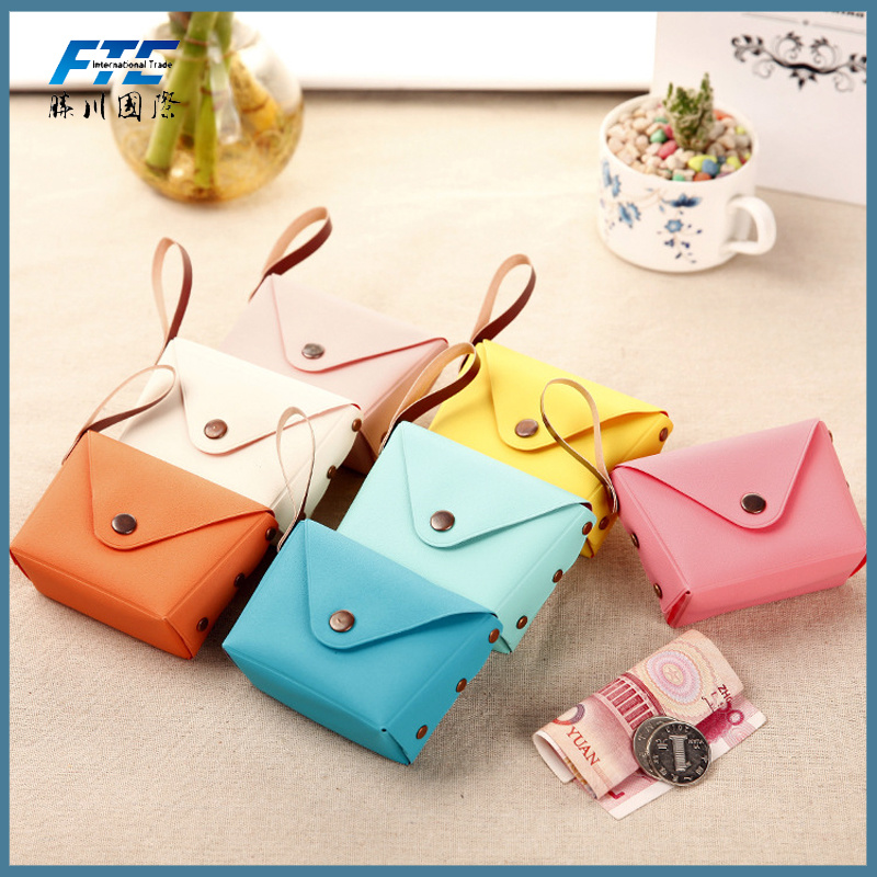 Cute Mini Women Girls Handhold Coin Wallets Handbag