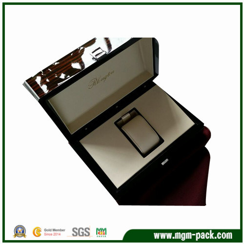 High Quality Customized Wooden Watch Box with Pillow