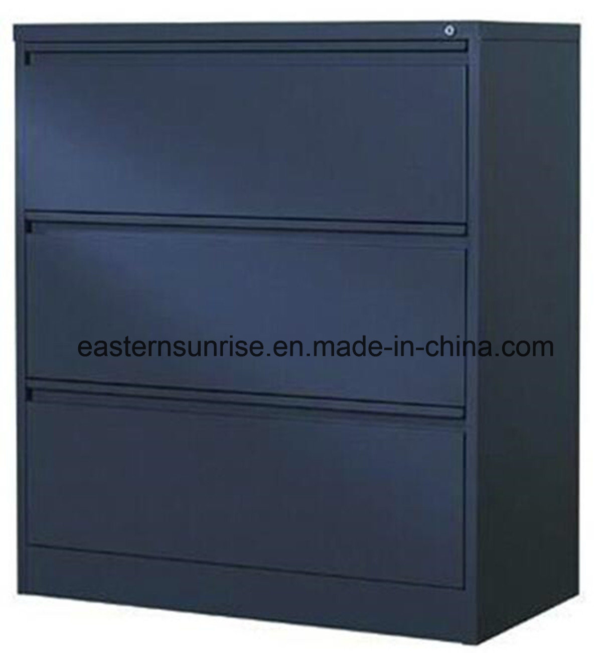 English Hot Sale Office Furniture 3 Drawers Steel Filing Cabinet