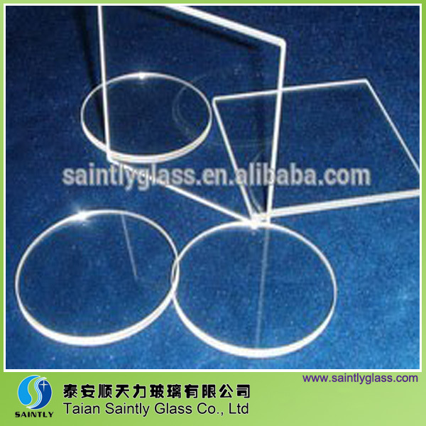 3-10mm Round Tempered Sight Glass/Optical Glass Lens