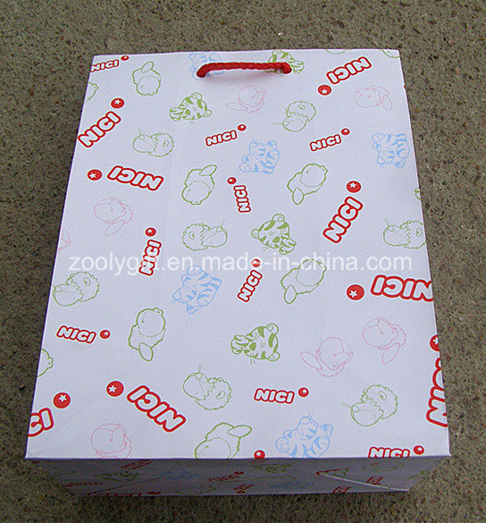 Fsc Certificated Printing Paper Shopping Gift Bags with Customize Logo Printed