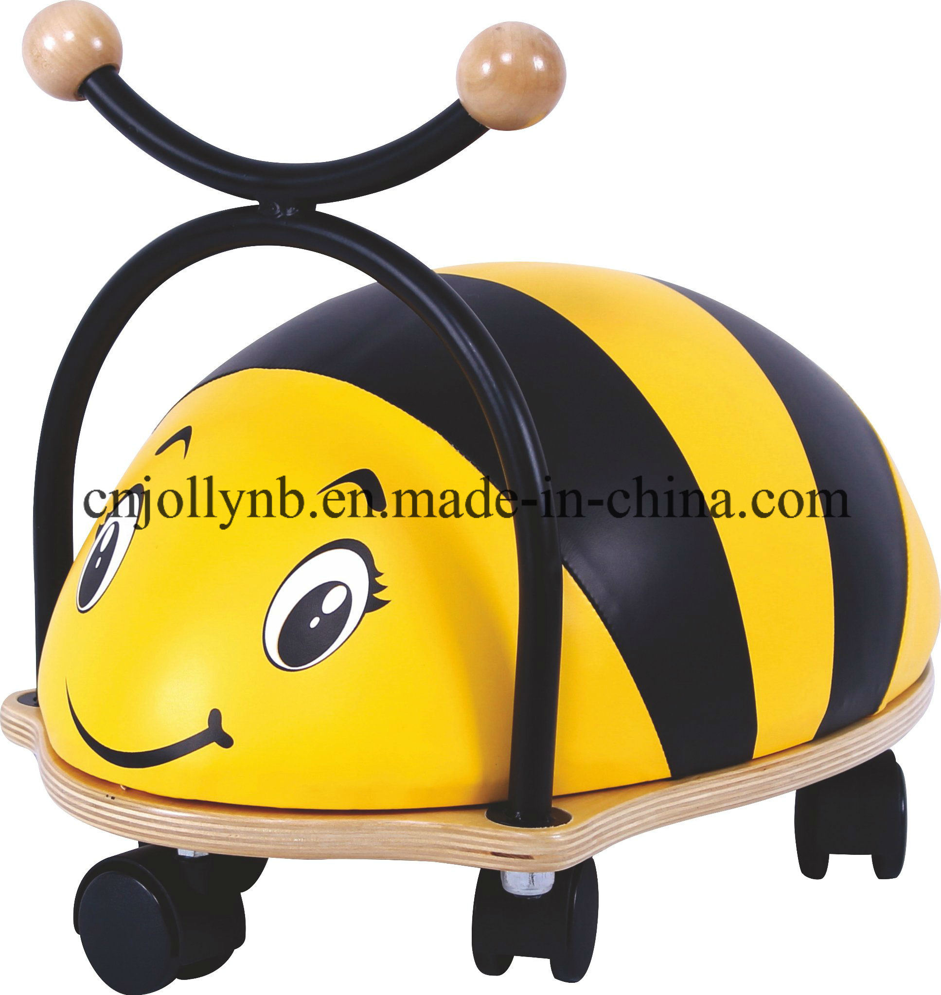 New and Popular Wholesale Kids Baby Walker, Hot Sale Wooden Ride on Bee for Kids