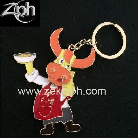 Factory Customized Zinc Alloy Keychain