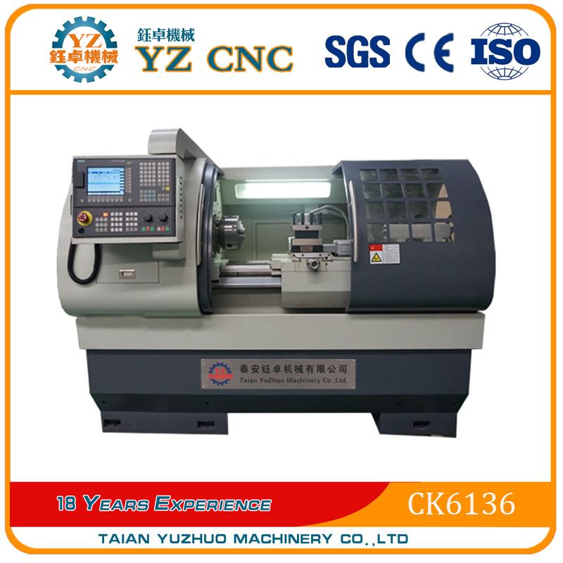 Ck6136 Flat Bed Type CNC Lathe Machine