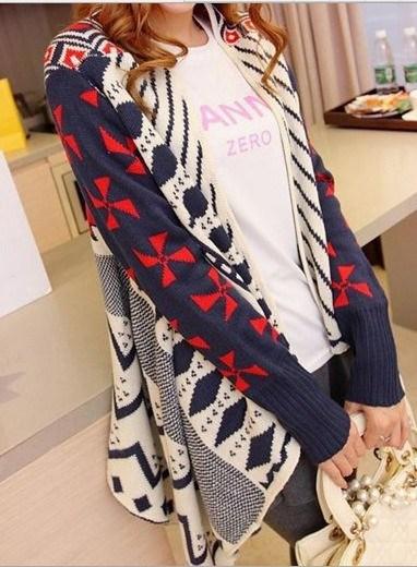 Thin Sweater Coat V Collar Long Sleeved Sweater Cardigan (BTQ003)