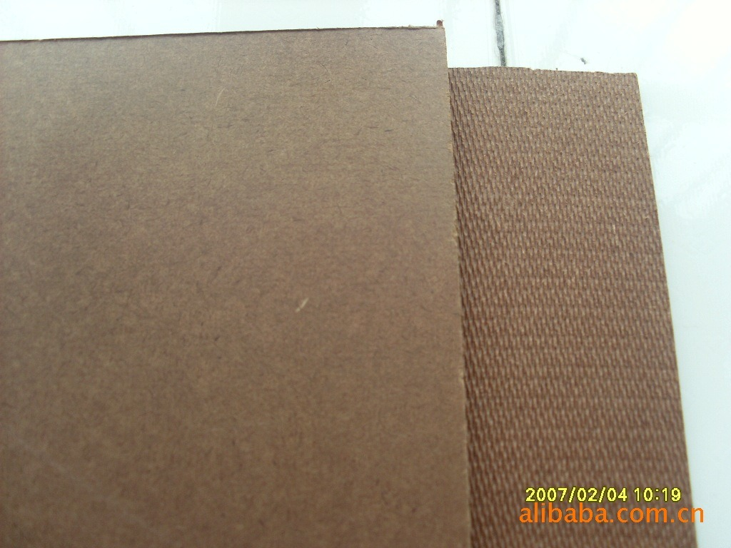 Dark Brown Hardboard 4X8 Smooth Surface and Rough Back