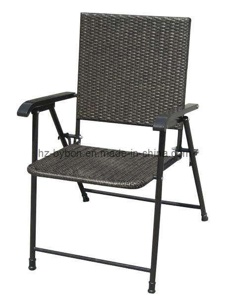Resin Wicker Folding Chair C 018 China Folding Chair Wicker Chair