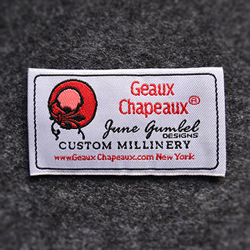 Hangzhou Fuhan Factory Garment Customized 100% Polyester Clothing Woven Labels