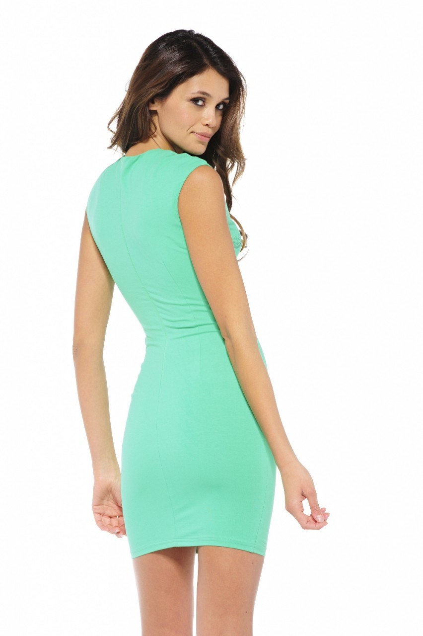 New Fashion Wholesale Sexy Bandage Lady Short Evening Party Dress 2014