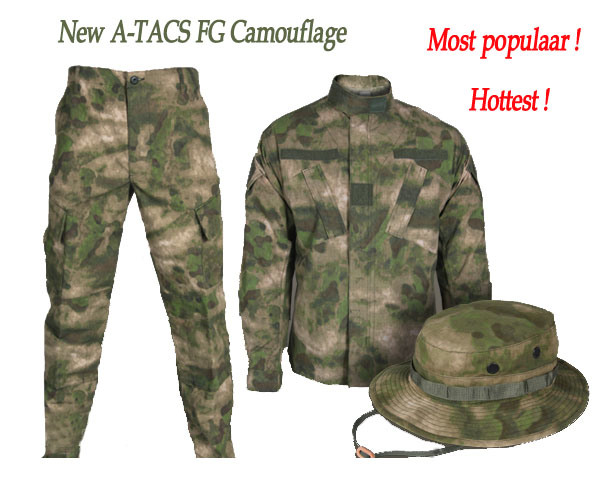 New a-Tacs Fg Camouflage Amry Suit Military Uniform (WS20905)