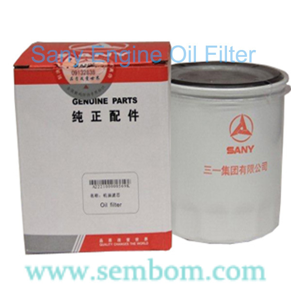 Engine Air/Oil/Feul/Hdraulic Oil Filter for Sany Sy75, Sy215 Excavator/Loader/Bulldozer