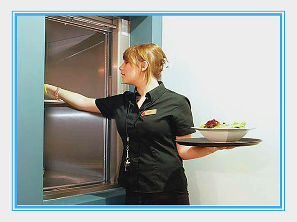 Capacity300kg Speed 0.5m/S Kitchen High Quality Food Service Dumbwaiter Elevator