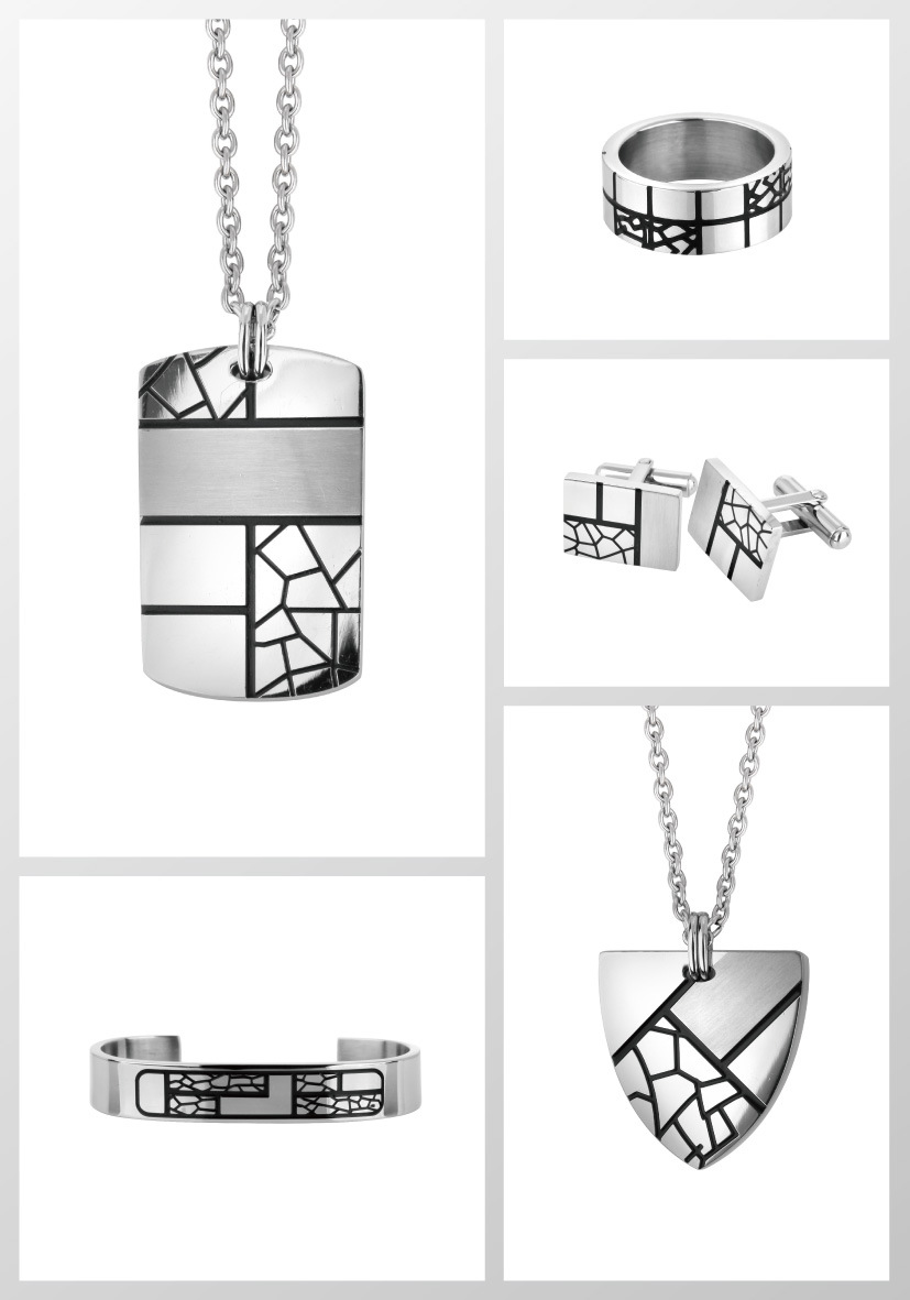 Latest Design Fashion Stainless Steel Jewelry Set