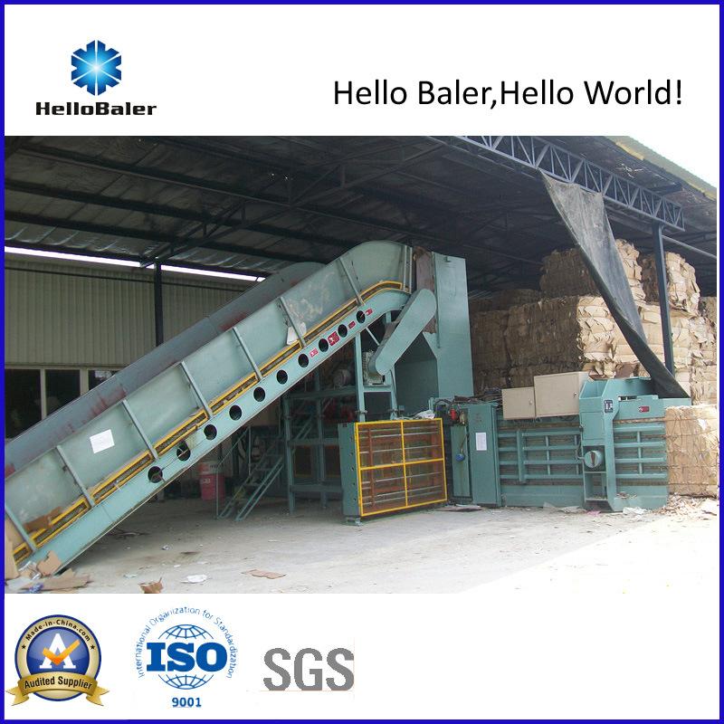 Hydraulic Waste Paper Baling Machine with Siemens PLC (HFA20-25)