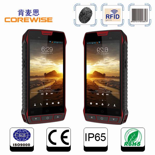 5 Inch Handheld Wireless NFC Reader with RFID Reader