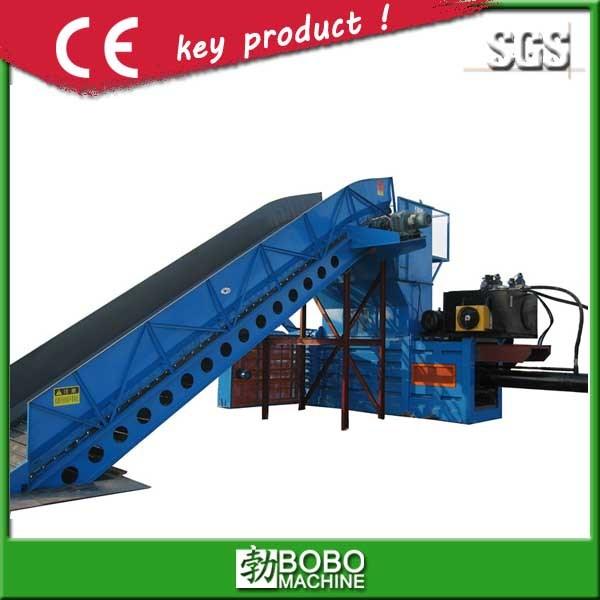 Semi-Auto Horizontal Waste Paper/Plastic Baling Machine Bo-Serie