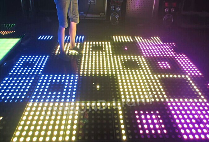 Wedding Decoration LED Digital Dance Floor with PC Control