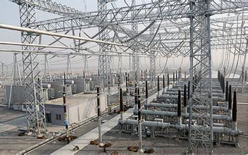 110 Kv Steel Lattice Substation Structure