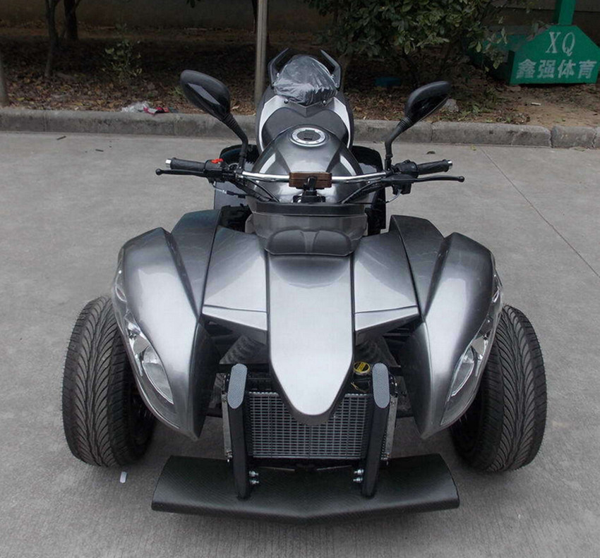 Street Bike Quad: China 250cc ATV EEC Approved Road Legal Quad Bikes For 2