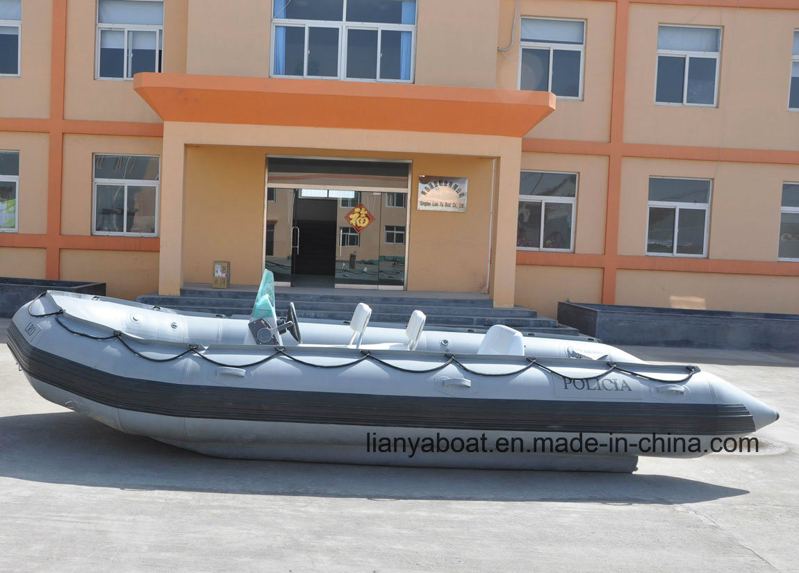 Liya 2m-6.5m Inflatable Rescue Boats with Motor for Sale
