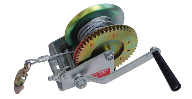 High Quality Steel Wire Hand Winch