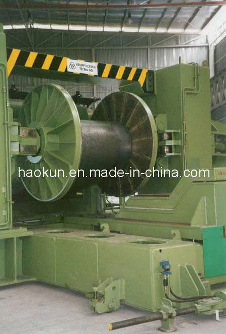 Spiral Pipe Making Machine SSAW Production Line Uncoiler