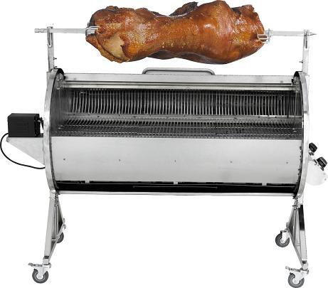 how to cook a pig on a gas grill
