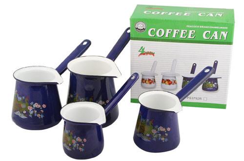 Enamel Coffee Can/ Coffee Pot