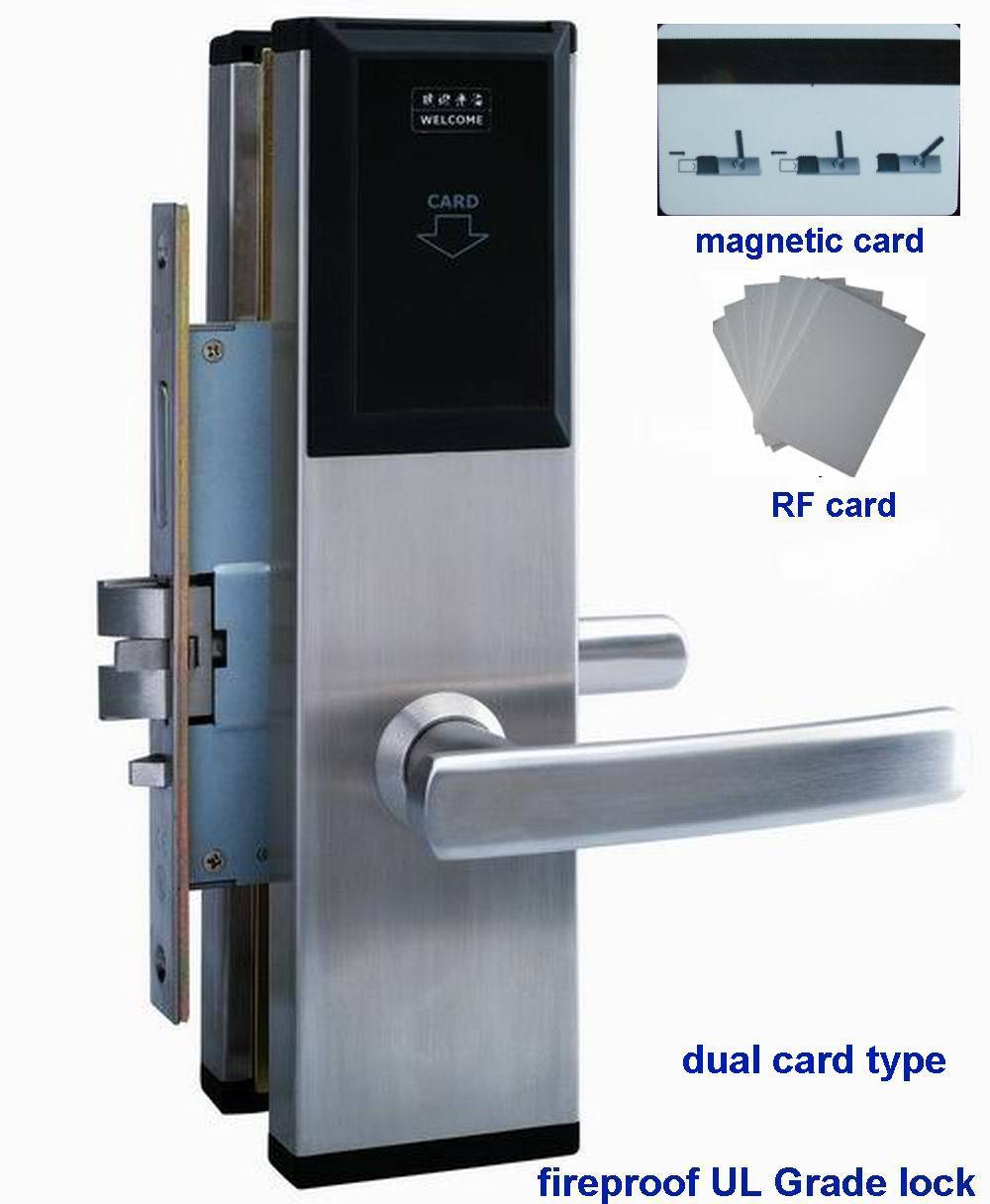 Fireproof UL Hotel Magnetic Card Lock