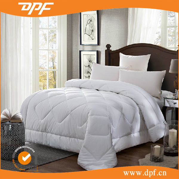 100% High Standard Silicon Blanket in Soild White Color (DPF201545)